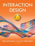 Interaction Design Beyond Human-Computer Interaction 4th 2015 edition cover