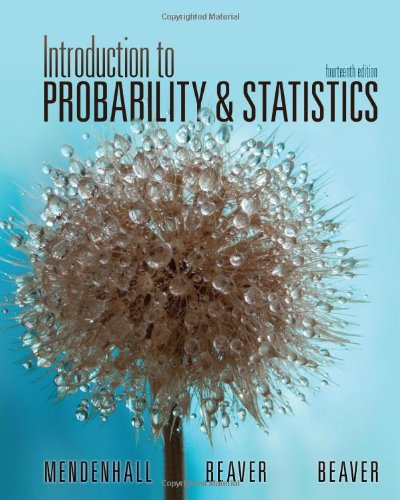 Introduction to Probability and Statistics  14th 2013 edition cover