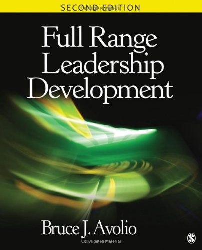 Full Range Leadership Development  2nd 2011 edition cover