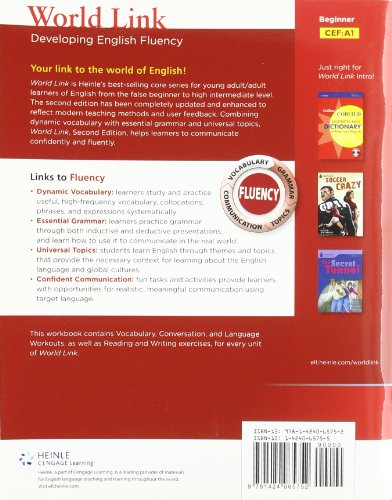 World Link Developing English Fluency 2nd 2011 edition cover