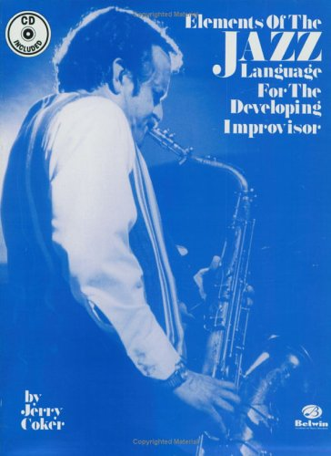 Elements of the Jazz Language for the Developing Improvisor Book and CD  1991 edition cover