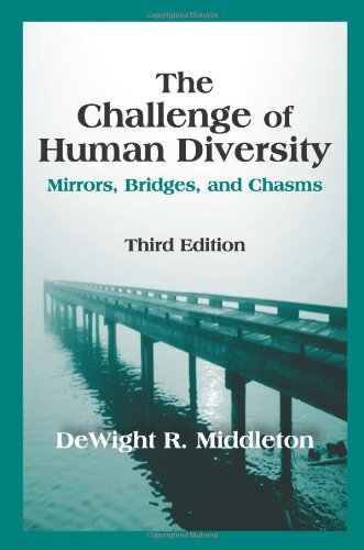 Challenge of Human Diversity Mirrors, Bridges, and Chasms 3rd 2010 edition cover