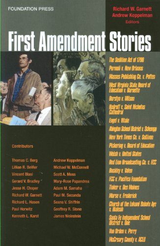 First Amendment Stories   2011 9781599417752 Front Cover