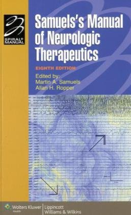 Samuels's Manual of Neurologic Therapeutics  8th 2010 (Revised) edition cover