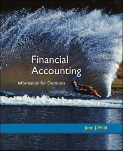 Financial Accounting Information for Decisions 4th 2008 (Revised) edition cover