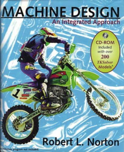 Machine Design An Integrated Approach with Software  1996 9780135554753 Front Cover
