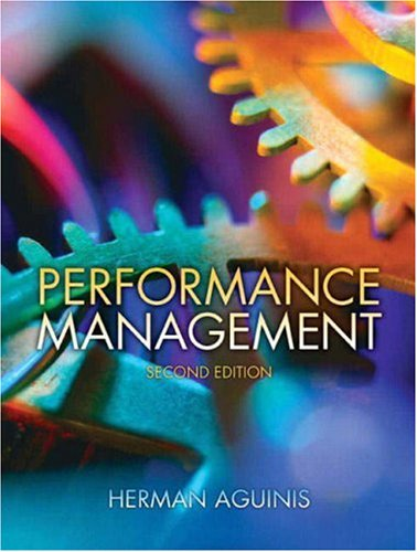 Performance Management  2nd 2009 edition cover