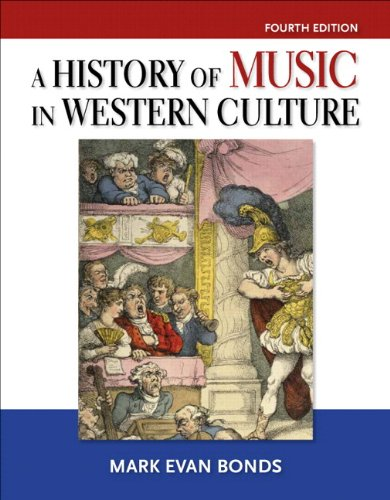 History of Music in Western Culture Plus MySearchLab - Access Card Package  4th 2014 9780205972753 Front Cover
