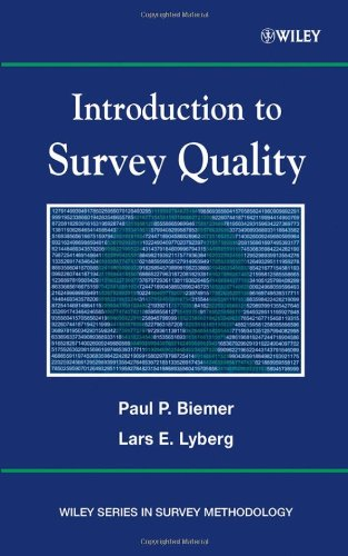 Introduction to Survey Quality   2003 9780471193753 Front Cover