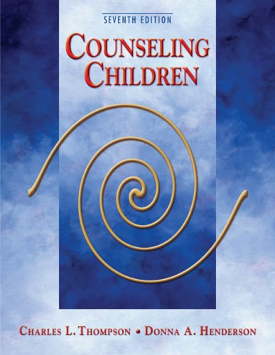 Counseling Children  7th 2007 9780495007753 Front Cover