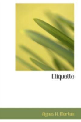 Etiquette  2008 edition cover