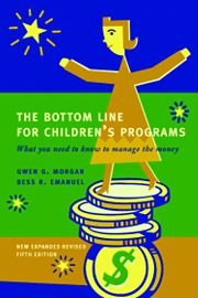 BOTTOM LINE FOR CHILDREN'S PRO N/A edition cover