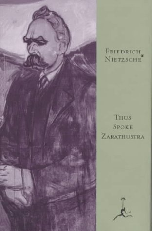 Thus Spoke Zarathustra   1995 9780679601753 Front Cover
