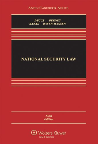 National Security Law 5e  5th 2011 (Revised) edition cover