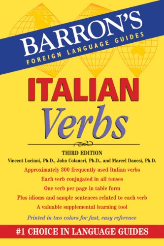 Italian Verbs  3rd (Revised) edition cover