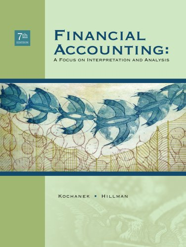Financial Accounting A Focus on Interpretation and Analysis 7th 2010 edition cover