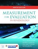 Measurement for Evaluation in Kinesiology  9th 2016 edition cover