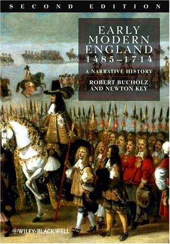 Early Modern England, 1485-1714 A Narrative History 2nd 2009 edition cover