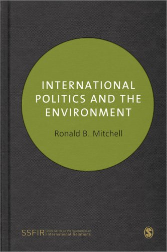 International Politics and the Environment   2010 edition cover