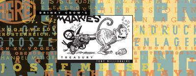 Drinky Crow's Maakies Treasury   2009 9781560979753 Front Cover