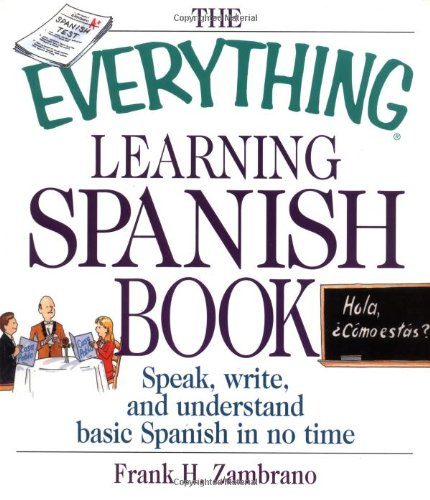 Learning Spanish Book Speak, Write and Understand Basic Spanish in No Time  2002 edition cover