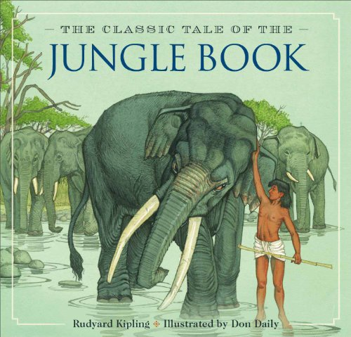 Cover art for The Classic Tale of the Jungle Book