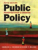 Public Policy Perspectives and Choices 5th edition cover