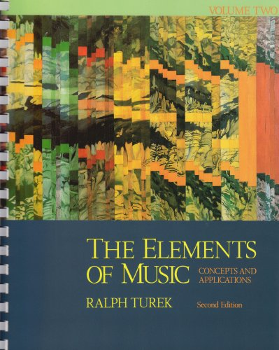 Elements of Music Concepts and Applications 2nd 1996 (Revised) edition cover