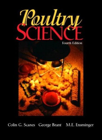 Poultry Science  4th 2004 edition cover