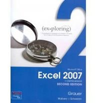 Exploring Microsoft Office Excel 2007 Comprehensive and MyITLab Student Access Code Card for Office 2007 Package  2nd 2010 9780132136754 Front Cover