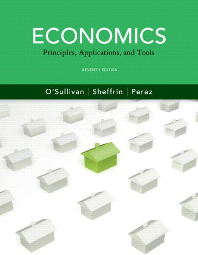 Economics Principles, Applications and Tools and MyEconLab with Pearson eText Instant Access and MyEconLab Valuepack Access Card (2-semester access) Package 7th 2012 9780132772754 Front Cover