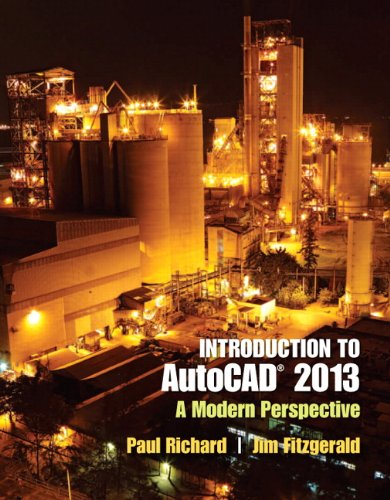Introduction to AutoCAD 2013 A Modern Perspective  2013 (Revised) edition cover