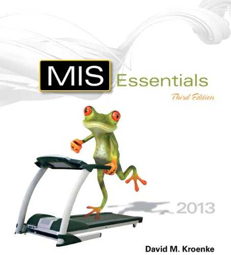MIS Essentials  3rd 2014 edition cover