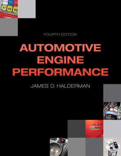 Automotive Engine Performance  4th 2014 edition cover
