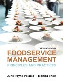 Foodservice Management: Principles and Practices  2015 edition cover