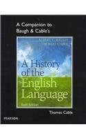 History of the English Language  4th 2013 (Revised) edition cover
