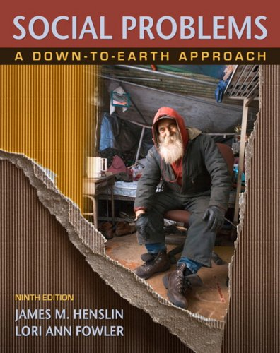 Social Problems A Down-to-Earth Approach 9th 2010 edition cover