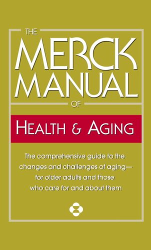 Merck Manual of Health and Aging  N/A edition cover