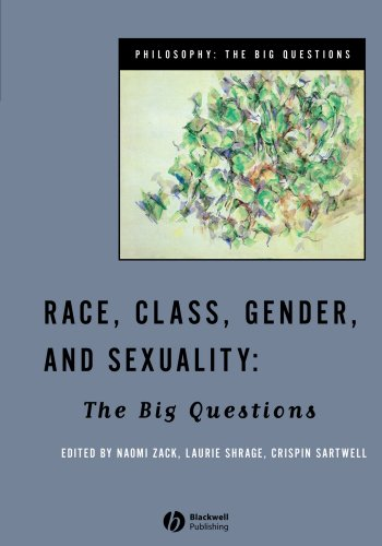 Race, Class, Gender and Sexuality The Big Questions  1998 edition cover