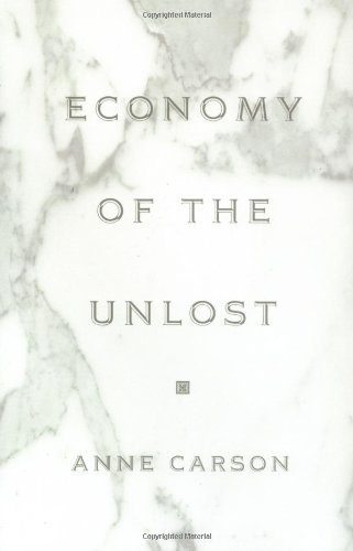 Economy of the Unlost   2002 edition cover