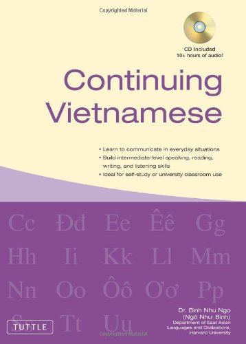 Continuing Vietnamese   2010 edition cover