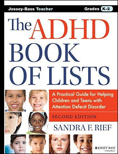 ADHD Book of Lists  2nd 2015 9781118937754 Front Cover
