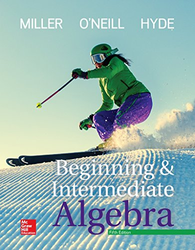 Beginning and Intermediate Algebra:   2017 9781259616754 Front Cover