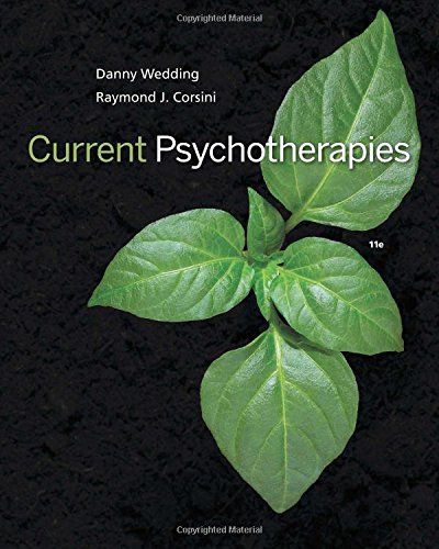 Current Psychotherapies:   2018 9781305865754 Front Cover
