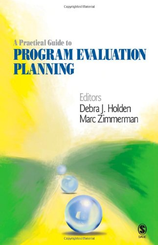 Practical Guide to Program Evaluation Planning Theory and Case Examples  2009 edition cover