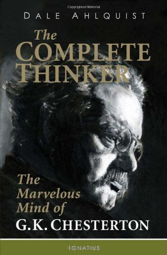 The Complete Thinker: The Marvelous Mind of G. K. Chesterton  2012 edition cover
