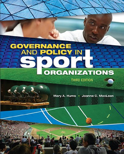 Governance Policy Sport Organisation:   2013 edition cover