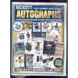 Beckett Autographs: A Comprehensive Price Guide to Sports and Non-sports Certified Autographs  2013 9781936681754 Front Cover