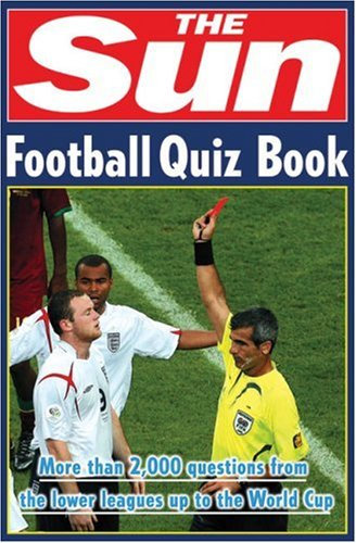 Sun Football Quiz Book   2007 9780007259755 Front Cover
