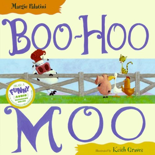 Boo-Hoo Moo   2008 9780061143755 Front Cover